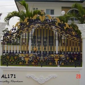 ประตูอัลลอย / ประตูรั้วอัลลอย / ช่องรั้วอัลลอย (ALLOY GATE/ALLOY DOOR)